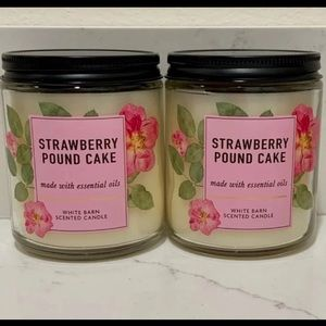 B&BW Strawberry Pound Cake Candles